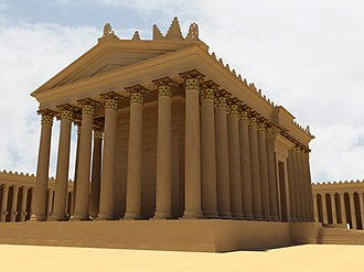 Bassel Khartabil - A digital reconstruction of the Temple of Bel from the New Palmyra project