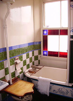 Bathroom in the Beamish Museum 01