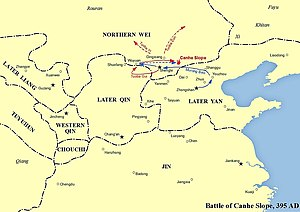 Battle of Canhe Slope - Image: Battle of Canhe Slope