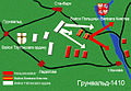 Battle of Grunwald map 2 Belarusian.jpg