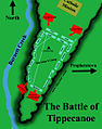 Battle of tippecanoe, battlefield map.jpg
