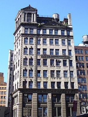 Baudouine Building - Baudouine Building from up Broadway