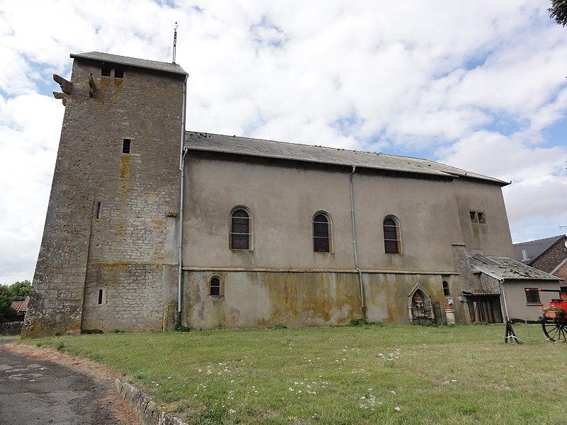 Bazailles (Meurthe-et-M.) église