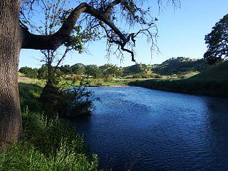 Bear Creek (Colusa County) - Bear Creek as it flows through the Bureau of Land Management's Cache Creek Natural Area