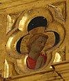 Beato angelico, pala strozzi della deposizione, con cuspidi e predella di lorenzo monaco, pilastrino sx 01.JPG