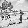 Bedoeïenen, met hun lastdieren vanuit de Negevwoestijn op weg naar de weekmarkt , Bestanddeelnr 255-0771.jpg