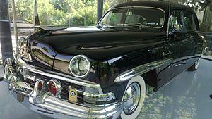 Lincoln Cosmopolitan - Chaim Weizmann limo 1950