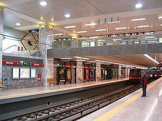 Lisbon Metro - Bela Vista station (Red Line).