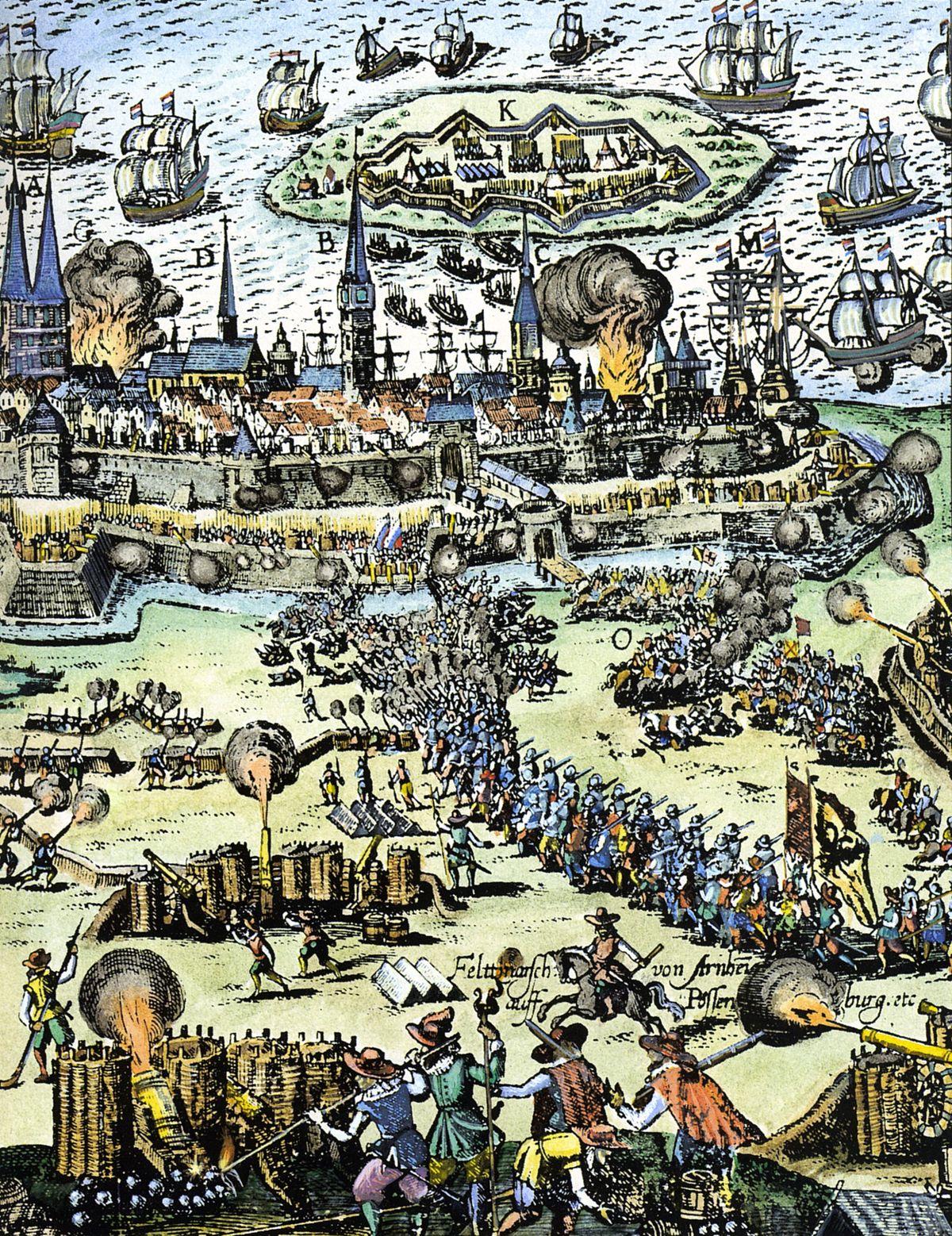 of Siege Stralsund Wikipedia - (1628)