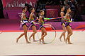 Belarus Rhythmic gymnastics team 2012 Summer Olympics 12.jpg