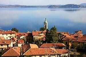 Belgirate - Image: Belgirate panorama