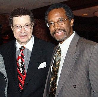 Ben Carson - Carson with fellow surgeon Levi Watkins in 2000
