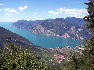 Lake Garda - Nago–Torbole and the northern part of the lake