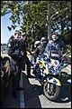 Benjamin on Police Motor Bike Mt Mee-1 (36255822815).jpg
