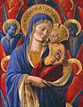 Benozzo Gozzoli - Virgin and Child with Angels - 77.2 - Detroit Institute of Arts.jpg