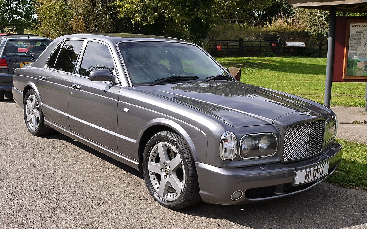 Bentley arnage wikipedia vanachro Images