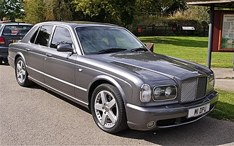 Bentley Arnage - Image: Bentley Arnage Flickr mick Lumix