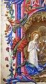 Benvenuto di giovanni, pagina di antifonario con iniziale H e la natività, siena 1471, 03 drago.jpg