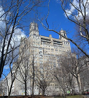 The Beresford - From Central Park