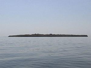 Berezan' Runestone - The island.