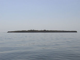 Berezan Island - Berezan Island as seen from a distance.