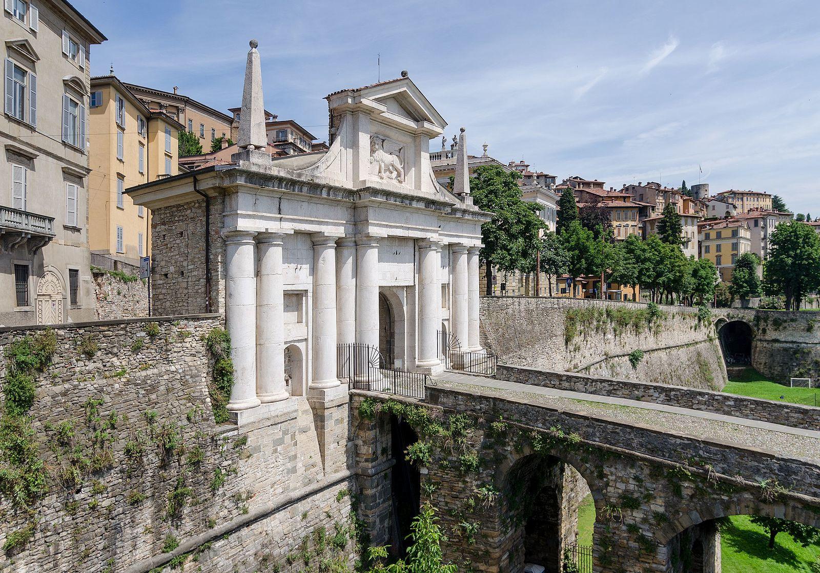 Bergamo Alta - mura veneziane