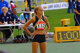 Kajsa Bergqvist in Stuttgart, september 2006