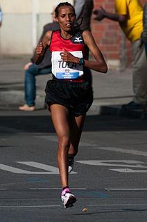 Fate Tola Ethiopian long-distance runner