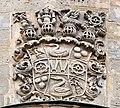 Berndorf Friedenskirche Wappen Relief 041377.jpg