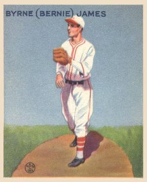 Bernie James (baseball) - Bernie James 1933 Goudey baseball card.
