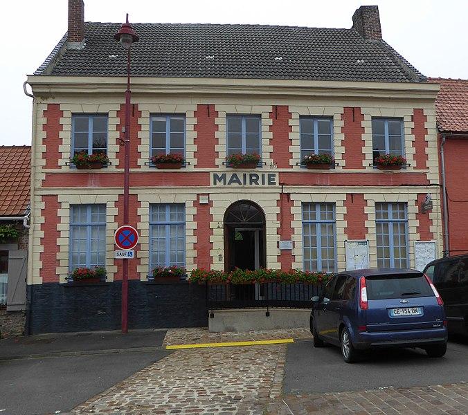 La mairie Bersée Nord Nord-Pas-de-Calais-Picardie France.