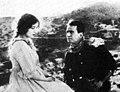 Bessie Love and Douglas Fairbanks in The Good Bad-Man (1916).jpg