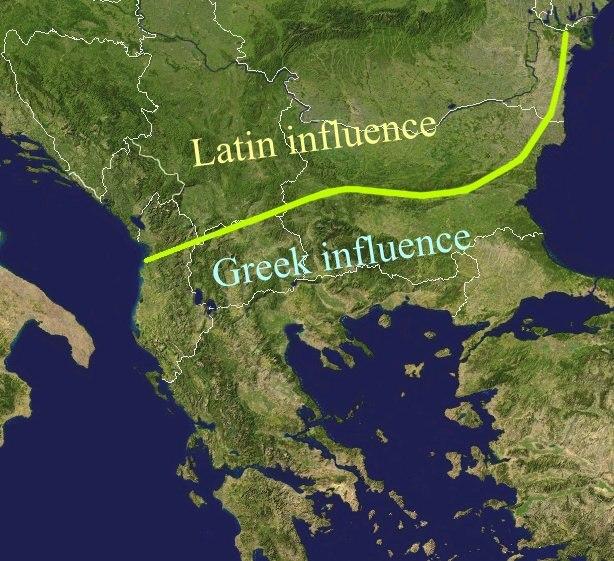 Bgiusca Jirecek Line