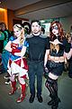 Big Wow 2013 - Supergirl, Tony Stark & Batgirl (8845759915).jpg