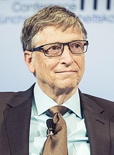 Bill Gates American businessman and philanthropist