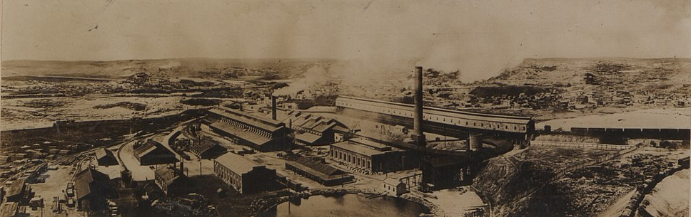Bird%27s Eye View of the Smelting Works of the Canadian Copper Co, Ontario (HS85-10-27230)