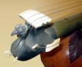 Bird on rudra veena, string holder, Metropolitan Museum of Art.png