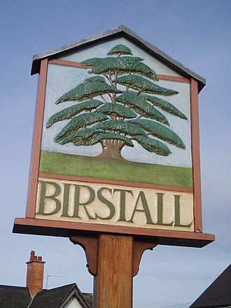 Birstall, Leicestershire - Image: Birstallvillagesign
