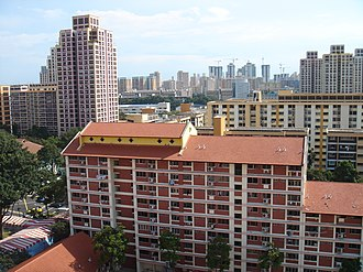 Bishan, Singapore - Housing estate in Bishan