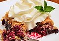 Blackberry dump cake with whipped cream.jpg