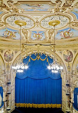 Grand Theatre, Blackpool - Inside the theatre