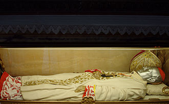 Andrea Carlo Ferrari - Cardinal Ferrari's remains housed in the Cathedral of Milan.