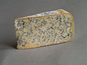 Blue cheese - Bleu de Gex, a creamy, semi-soft blue cheese made in the Jura region of France