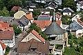 Blick vom Wohnturm-Bergfried auf Burgsponheim mit ev. Kirche.jpg