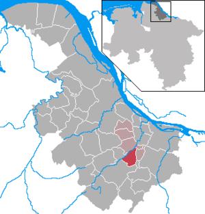 Bliedersdorf - Image: Bliedersdorf in STD