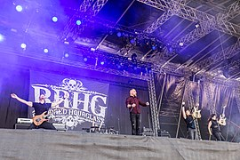 Bloodred Hourglass at Rockharz 2019