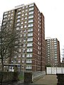 Bloomsbury, Chancellors and Babington Courts, WC1 - geograph.org.uk - 669461.jpg