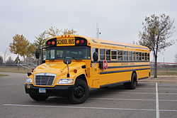 Type C school bus (Blue Bird Vision)