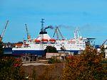 Bluefort in Port of Paljassaare Tallinn 12 September 2016.jpg