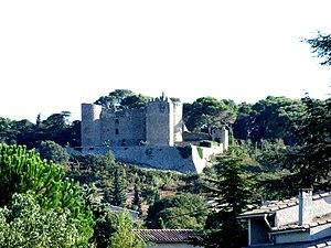 Boissières, Gard - The chateau in Boissières